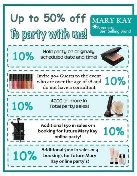 Mary Kay - Shop Until You Drop - Exclusive Holiday Discounts